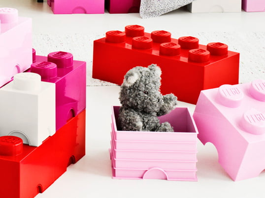 The Storage Bricks by Lego come along in well-known Lego Design. They have the same functionality as the small stones that we know from childhood days.