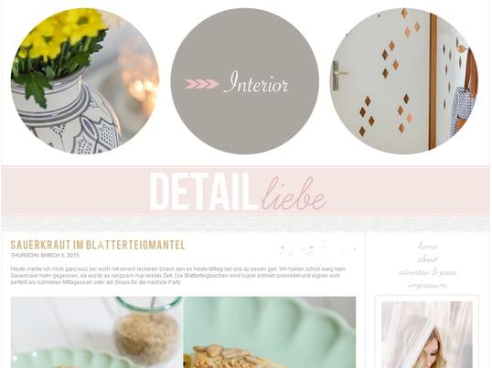 Blog screenshot Detailliebe