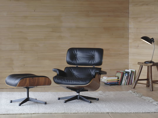 Created by Charles and Ray Eames, this chair was designed for maximum comfort and to exemplify high-quality workmanship. Available in cherry, rosewood and many other materials, it makes the perfect addition to any interior.