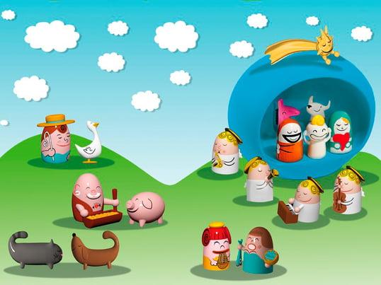 A di Alessi - Nativity Scene