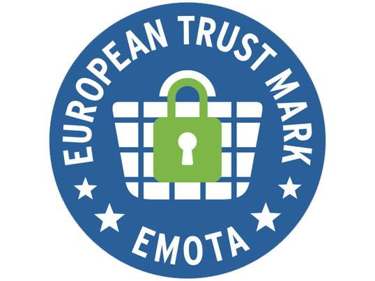EMOTA - European Trustmark - the European, uniform seal of approval for online shops inside of Europe
