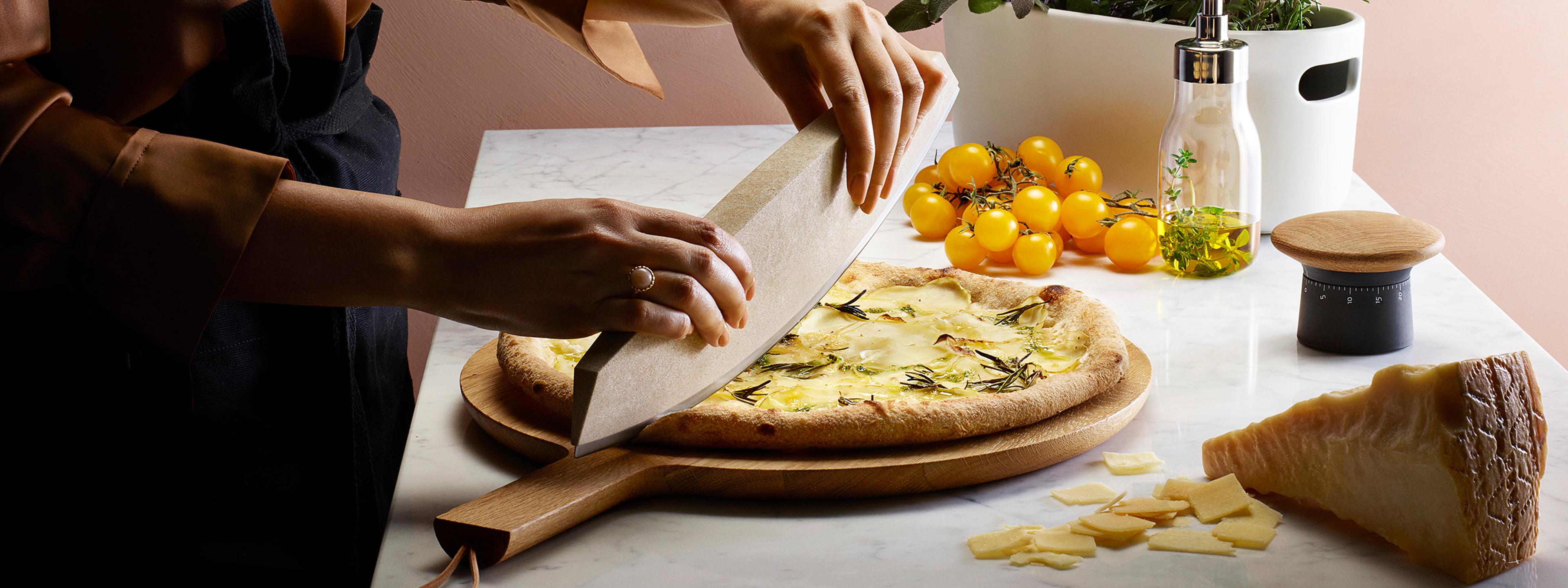 /Ø 27 cm Home of Cake Tortenplatte mit Fu/ß Puro medium in Rosa Matt