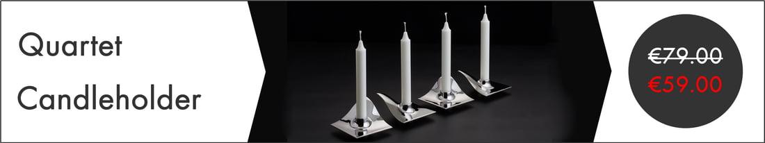 ArchitectMade - Quartet Candleholder