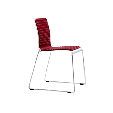 Sting 030 chair, red upholstered