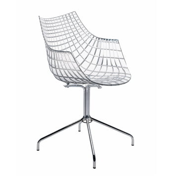Driade - Meridiana Armchair, transparent