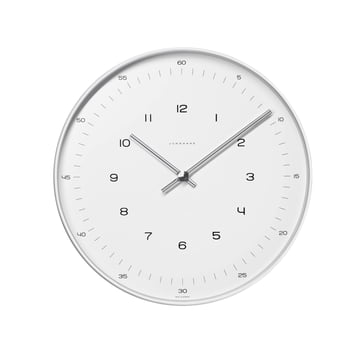 Max Bill Wall Clock, Numbers, Ø 22cm