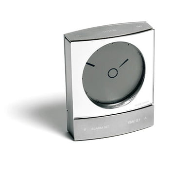Jacob Jensen - Wake up Clock, silver