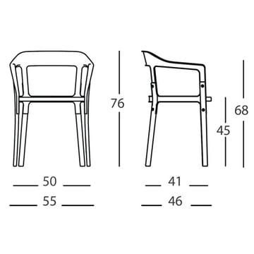 Steelwood Armchair