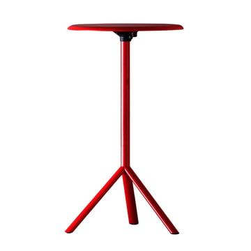 Plank - Miura Table, Höhe 109cm, traffic red