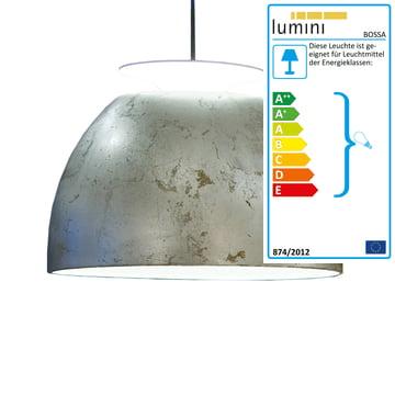 Bossa pendant lamp, silver