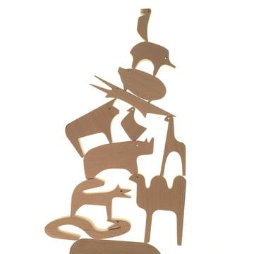 "Milano Danese - ""Sedici Animali"" Wooden Puzzle"