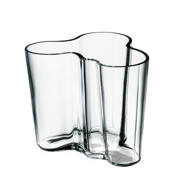 Iittala - Aalto Vase Savoy, clear 95 mm