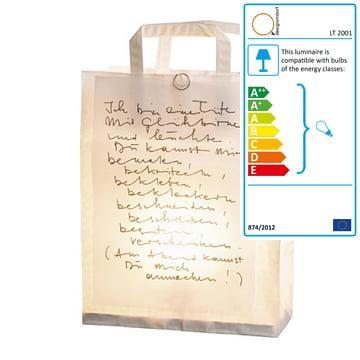 Luminous bag small, 30 cm tall