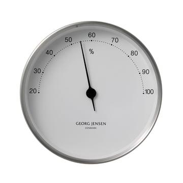 Georg Jensen Hygrometer - steel/white - ø 10cm