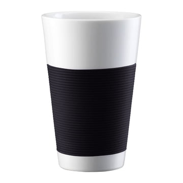 Bodum Canteen - Cup, double-walled 0.35l - black