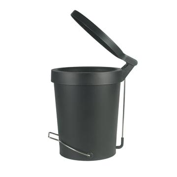 Tip pedal bin ø 22 cm by Authentics in black