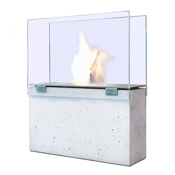Conmoto Fireplace Muro - with glass