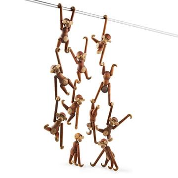 buy the kay bojesen wooden monkey online. Black Bedroom Furniture Sets. Home Design Ideas
