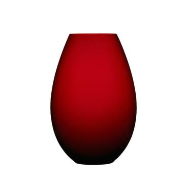Holmegaard - Cocoon Vase, 20.5 cm, red