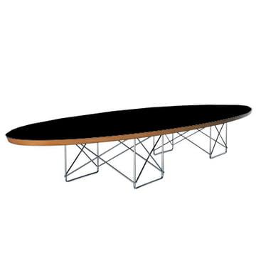 Elliptical Table - HPL schwarz