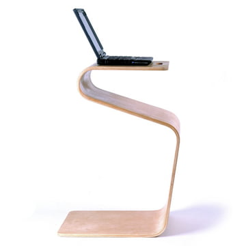 Offi - Mag Table, upright with Laptop