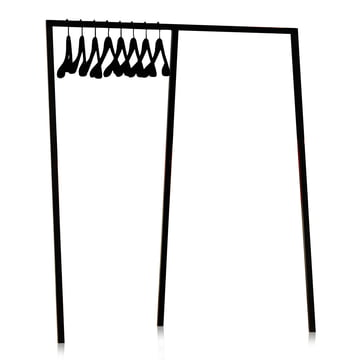 Hay - Loop Stand Wardrobe, black