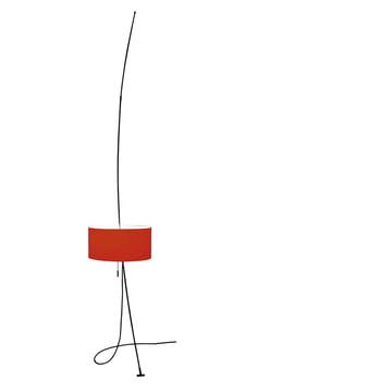 Totora lamp red