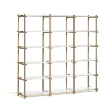 Hay Woody Shelf - High, white
