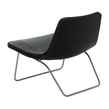 Hay Ray Lounge Chair - black leather