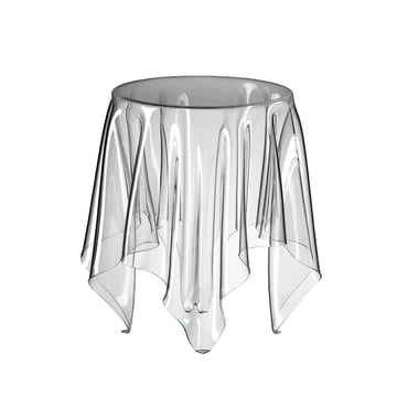 Illusion side table - transparent