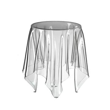 Illusion side table - transparent