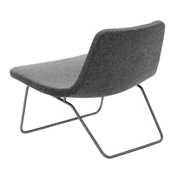 Hay Ray Lounge Chair Stoff grey fabric