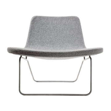 Hay Ray Lounge Chair Stoff light grey
