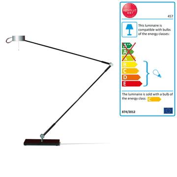 Absolut Lighting - desk lamp, table foot, 50W