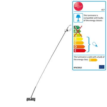Absolut Floor Lamp 50 Watt 130 cm