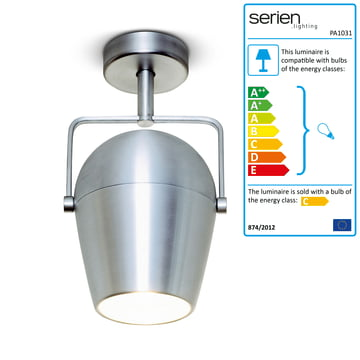 serien.lighting - Pan Am Wall- and Ceiling lamp 1