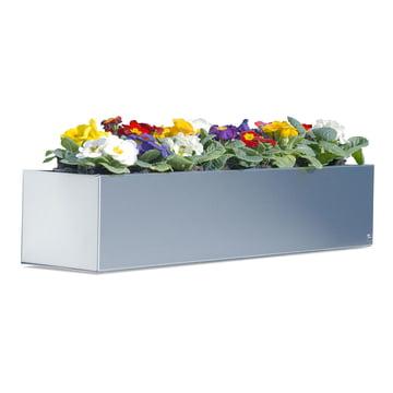 Radius-Design Flower Box made of stainless steel