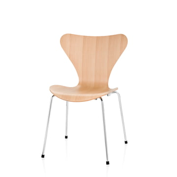Fritz Hansen - Series 7 childrens chair, natural beech wood