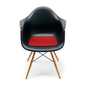 Sign felt cushion Eames Plastic Armchair