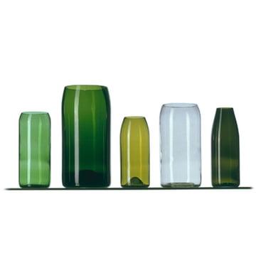 5-piece vase set by Franz Maurer for Artificial