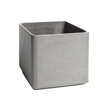 Eternit - Delta plant pot 45 x 45 x45cm, grey