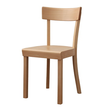 Frankfurt Chair - natural beech wood, matt lacquered