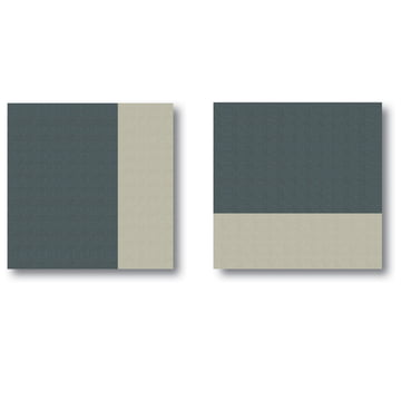 Acousticpearls - Duo 1 S + Duo 2 S acoustic panels, shades of grey
