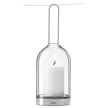 Eva Solo Hurricane lantern, with attachment on wire
