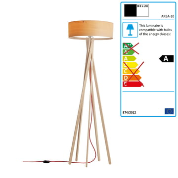 Belux - Arba floor lamp, on/off switch