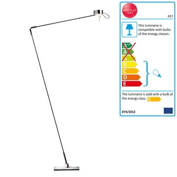 Absolut Lighting - Floor and Reading Lamp sensor dimmer