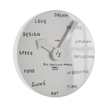 Alessi - 24h Sentence Maker Wall Clock