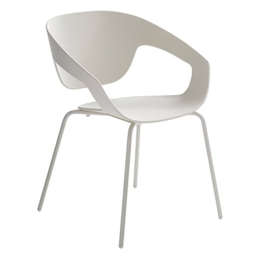 Casamania - Vad Chair with four-legged frame in white
