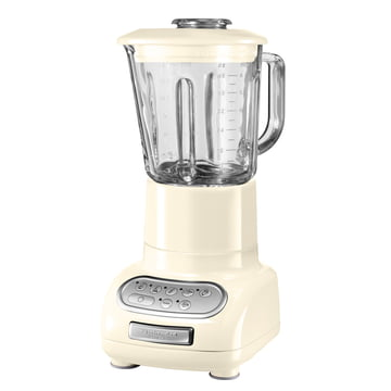 KitchenAid - Artisan blender with glass container in almond cream