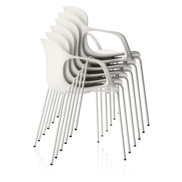 Fritz Hansen - Nap Chair, armrests, stacked